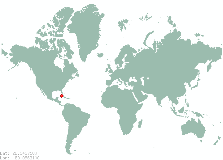san diego del valle in world map